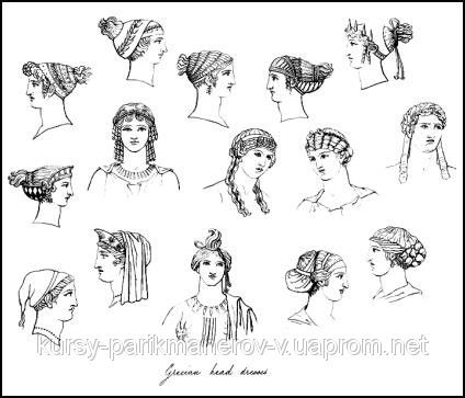Ancient Greek Hairstyle 2