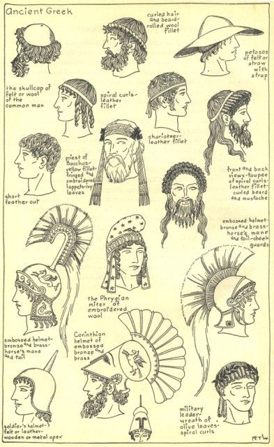 Ancient Greek Hairstyle 4